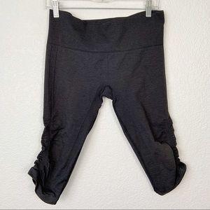 Lululemon Gray Flow and Go Crop Pants 8